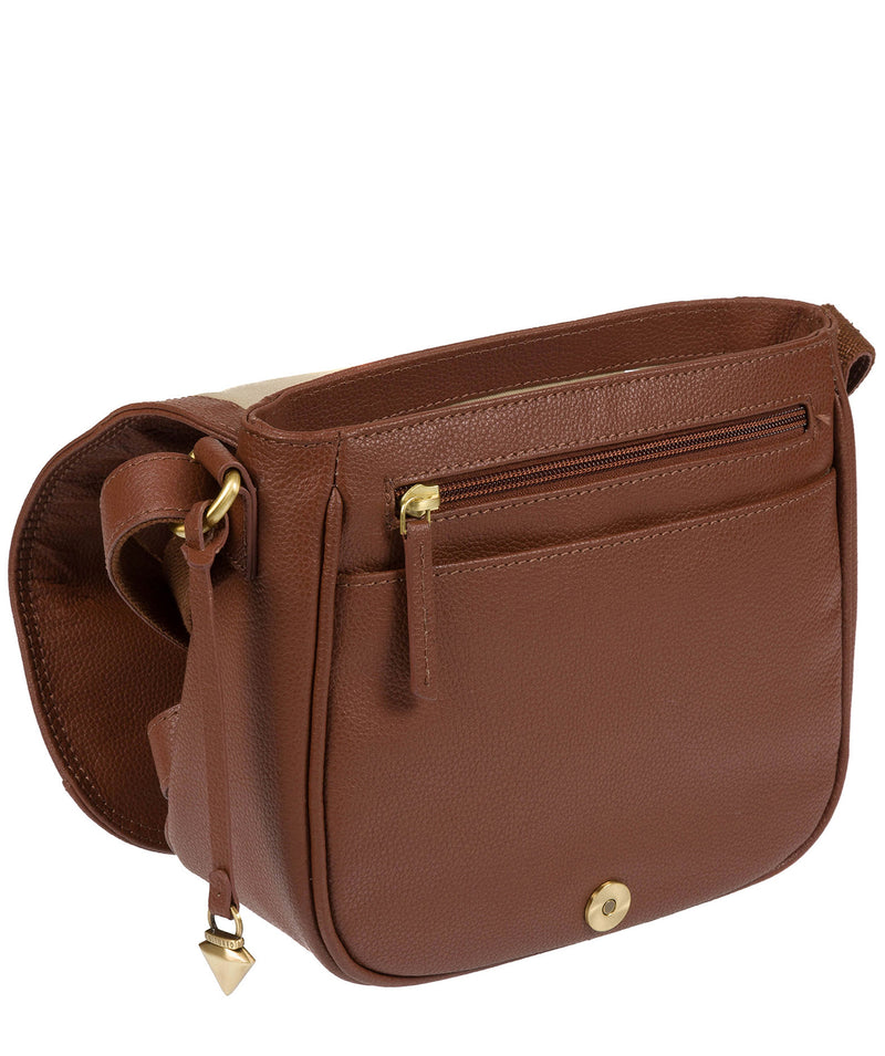 'Pollencia' Sienna Brown Leather Bag image 7