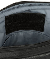 'Hop' Black Leather Despatch Bag image 4