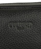 'Hop' Black Leather Despatch Bag image 6
