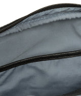 'Hop' Black Leather Despatch Bag image 7