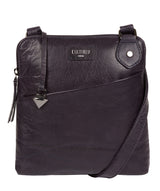 'Abberton' Navy Leather Cross Body Bag image 1