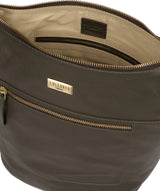 'Elizabeth' Olive Leather Shoulder Bag image 4