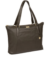 'Isabella' Olive Leather Tote Bag image 3