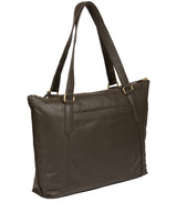 'Isabella' Olive Leather Tote Bag image 4