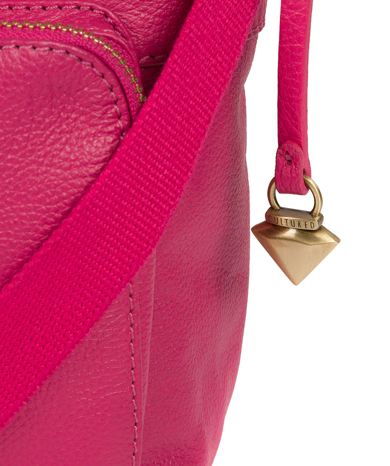 'Olivia' Cabaret Leather Shoulder Bag  image 6