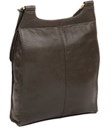 'Morgan' Olive Leather Cross Body Bag image 5