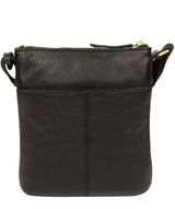 'Brooke' Black Leather Cross Body Bag image 3