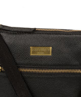 'Brooke' Black Leather Cross Body Bag image 5
