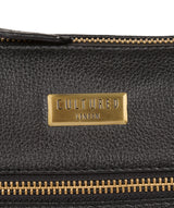 'Brooke' Black Leather Cross Body Bag image 7