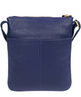 'Brooke' Mazarine Blue Leather Cross Body Bag image 3