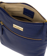 'Brooke' Mazarine Blue Leather Cross Body Bag image 4