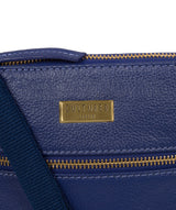 'Brooke' Mazarine Blue Leather Cross Body Bag image 6