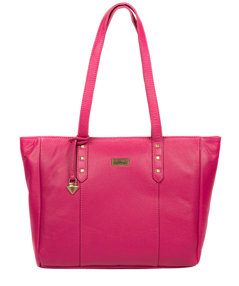'Avery' Cabaret Leather Tote Bag Pure Luxuries London