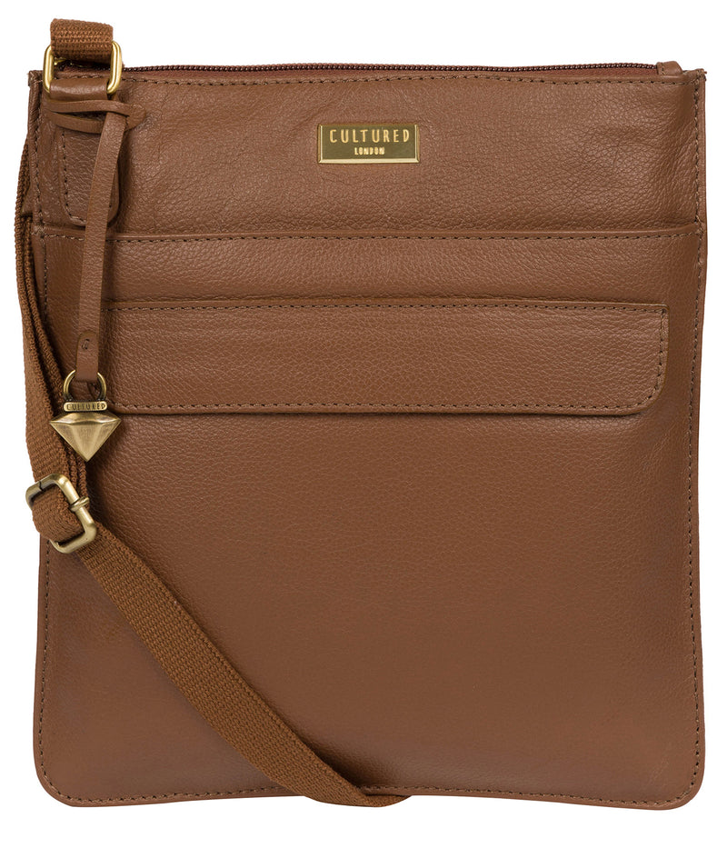 'Nevaeh' Tan Cross Body Bag image 1