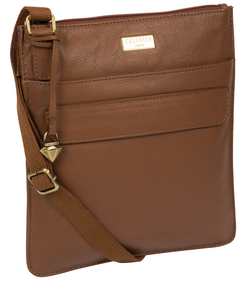 'Nevaeh' Tan Cross Body Bag image 5