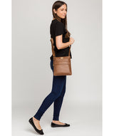 'Nevaeh' Tan Cross Body Bag image 2