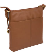'Bronwyn' Tan Leather Cross Body Bag image 3