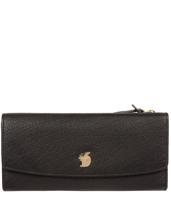 'Ollie' Black Leather RFID Purse image 1