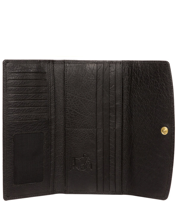 'Ollie' Black Leather RFID Purse image 3