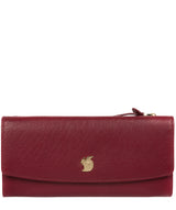 'Ollie' Deep Red Leather RFID Purse image 1