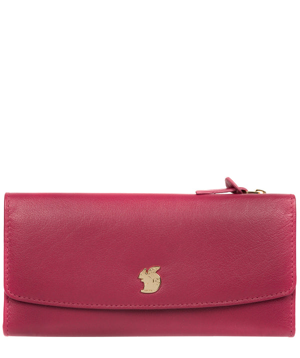 'Ollie' Orchid Leather RFID Purse image 1