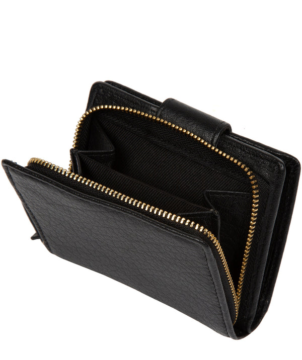 'Azaria' Black Leather RFID Purse image 3
