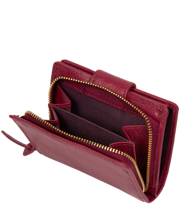 'Azaria' Orchid Leather RFID Purse image 3