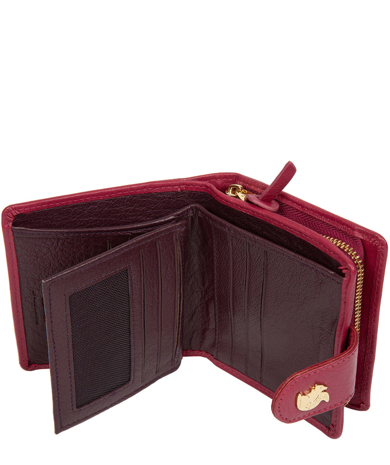 'Azaria' Orchid Leather RFID Purse image 5