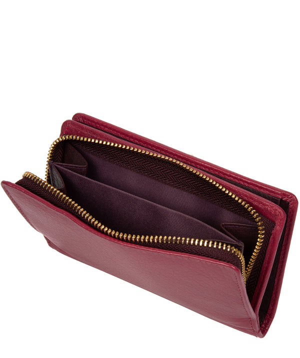 'Fran' Orchid Leather RFID Purse image 3