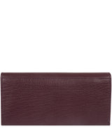 'Arabella' Deep Red Leather RFID Purse image 5