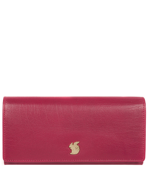 'Arabella' Orchid Leather RFID Purse image 1