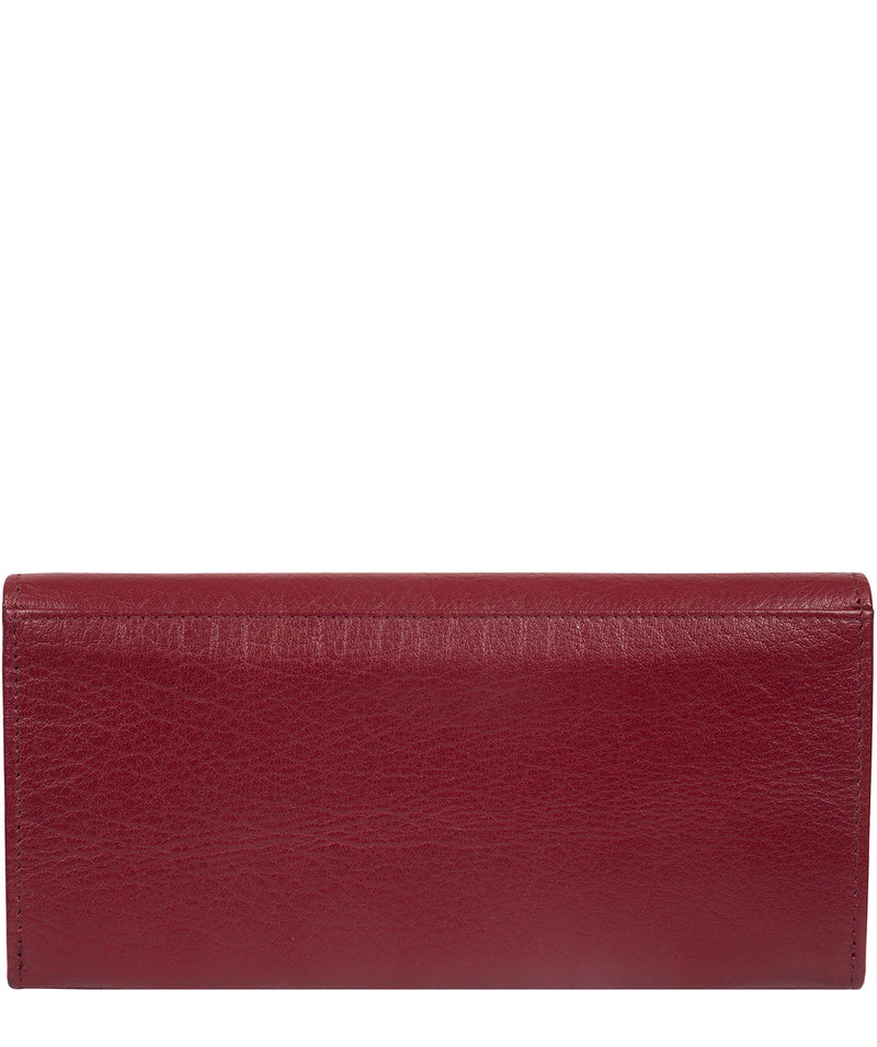 'Arabella' Plum Leather RFID Purse image 5