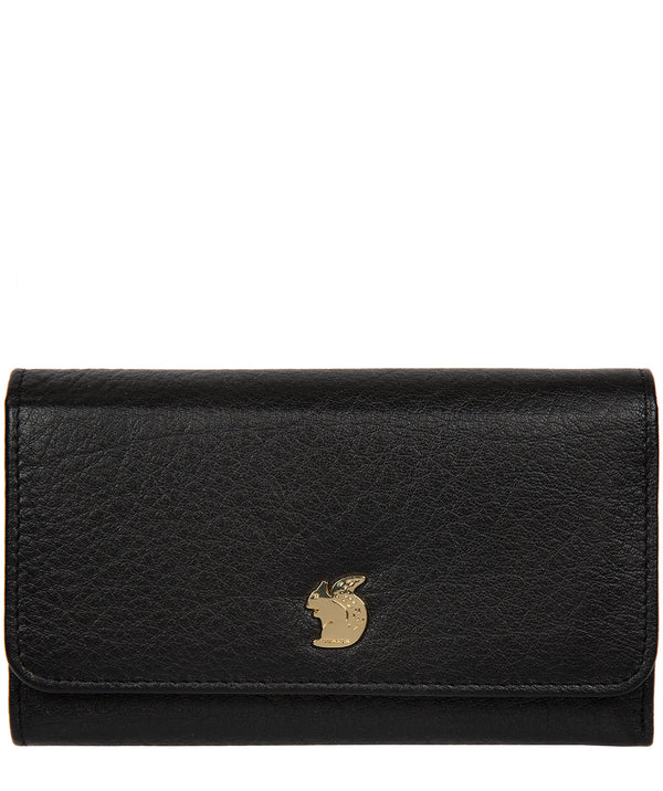 'Colleen' Black Leather RFID Purse image 1