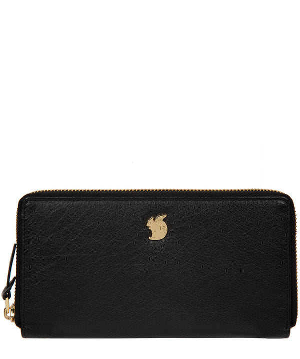 'Aisling' Black Leather RFID Purse image 1
