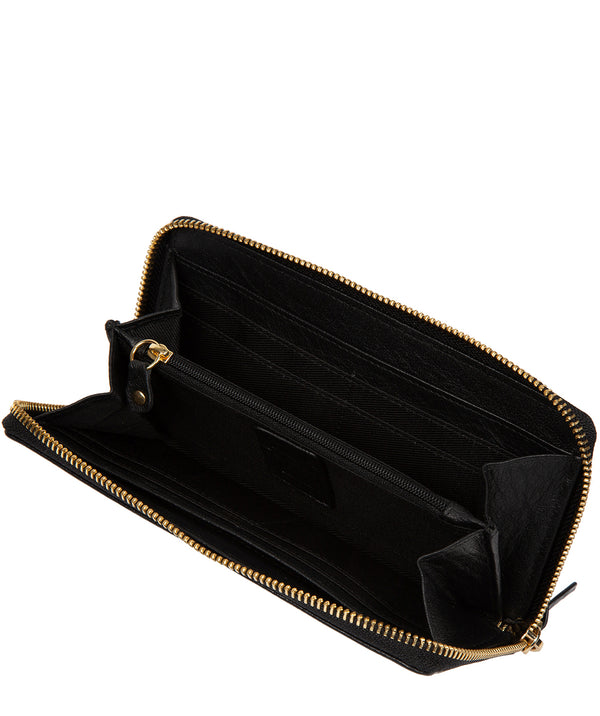 'Aisling' Black Leather RFID Purse image 3