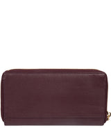 'Aisling' Plum Leather RFID Purse image 4