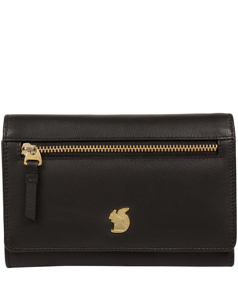'Carey' Black Leather Purse image 1