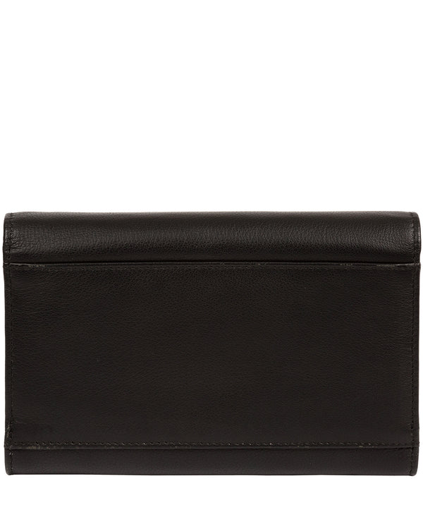 'Carey' Black Leather Purse image 3