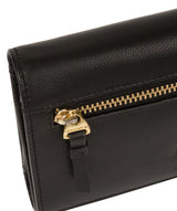 'Carey' Black Leather Purse image 7