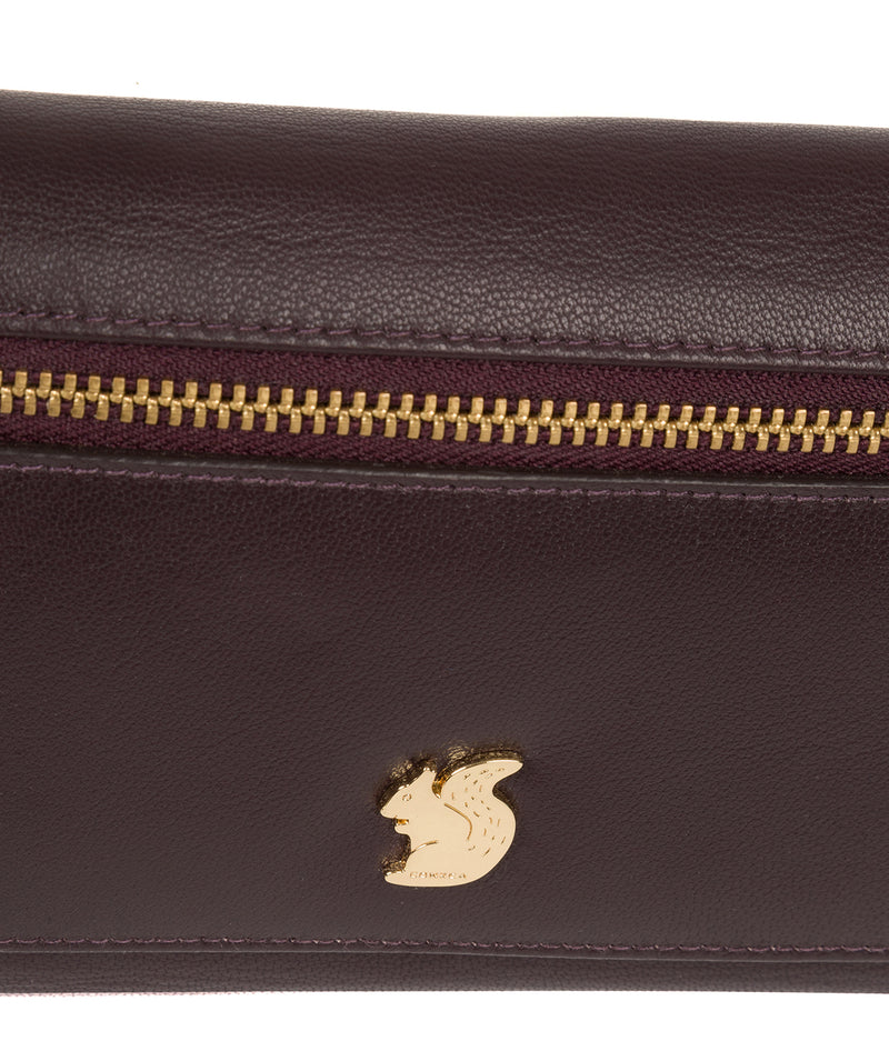 'Carey' Plum Leather Purse image 7