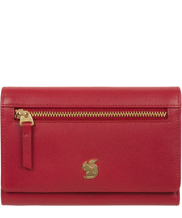 'Carey' Red Leather Purse image 1