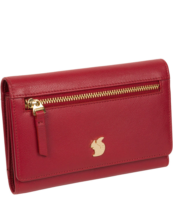 'Carey' Red Leather Purse image 3