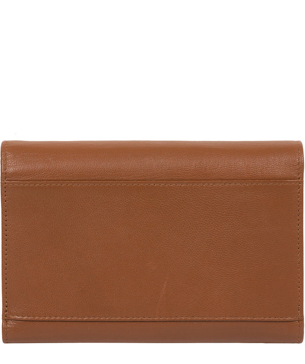 'Carey' Tan Leather Purse image 3