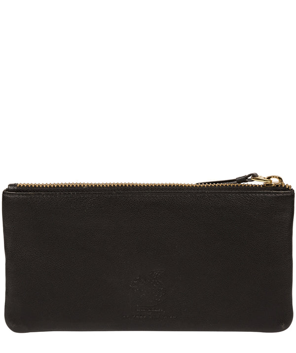 'Mavor' Black Leather Purse image 3