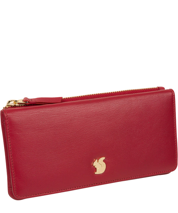 'Mavor' Red Leather Purse image 3