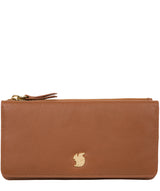 'Mavor' Tan Leather Purse image 1