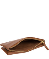 'Mavor' Tan Leather Purse image 5