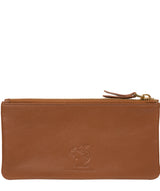 'Mavor' Tan Leather Purse image 6