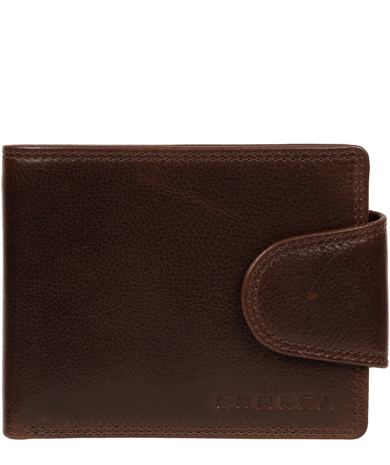 'Stewart' Brown Leather Wallet image 1