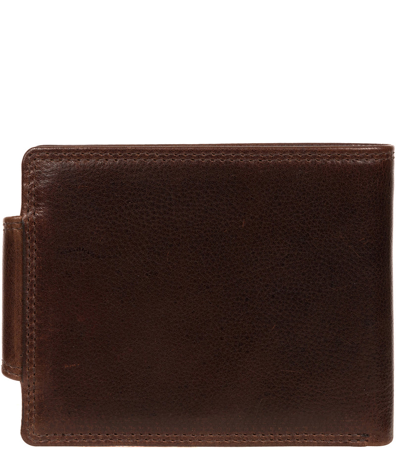 'Stewart' Brown Leather Wallet image 3